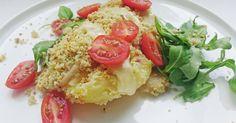 Crumble de verduras y queso #ñam
