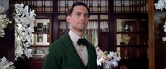 Tobey Maguire as Nick Carraway..