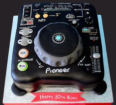 Marvelous 13 Best Dj Cake Images Dj Cake Cupcake Cakes Music Cakes Birthday Cards Printable Trancafe Filternl