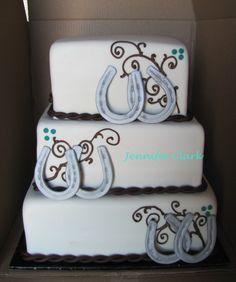 western wedding | western wedding cake | My Creations