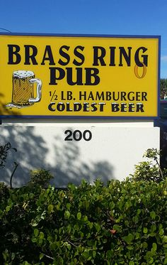 BRASS RING PUB - Brass Ring Pub is a fantastic local North Palm Beach pub and restaurant. Voted #1 Burger in Palm Beach. Great atmosphere. Fantastic food! Read more: http://brassringpub.rkorson.com/ #brassringpub #brassringpubnpb #northpalmbeach #palmbeachcounty
