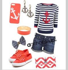 Anchor clothes cute ⚓