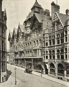 Jessop's Department Store, King Street, Nottingham, 1898.