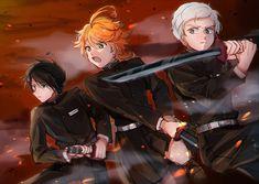 kimetsu no yaiba x the promised neverland Best Crossover, Fandom Crossover, Anime Crossover, Anime Angel, Anime Demon, Norman, Anime Friendship, Dancing Baby, Kakashi Sensei