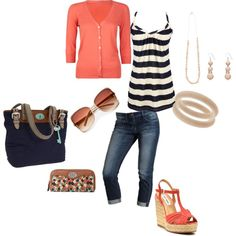 on the boardwalk, created by cami-woods-aley.polyvore.com    love this!