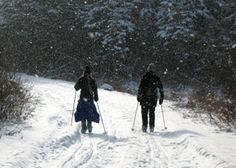 ADK ski trails