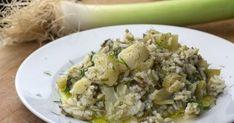 Το απόλυτο πρασόρυζο Fried Rice, Potato Salad, Fries, Food And Drink, Ethnic Recipes, Side Dishes, Nasi Goreng, Stir Fry Rice