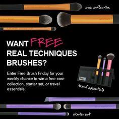Saving 4 A Sunny Day: Free Brush Friday