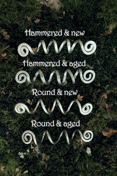 This listing is for a pair of custom long Viking hair beads, made to order. The spiral shape of these hair coils makes it easy to use and fits