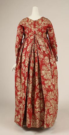 Dress Date: 1790s Culture: French Medium: silk Accession Number: C.I.64.32.2