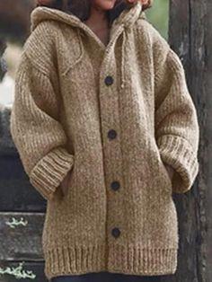 Loose Sweater, Sweater Coats, Long Sleeve Sweater, Long Cardigan, Winter Cardigan, Women's Coats, Pullover Hoodie, Sweater Hoodie, Sweatshirt