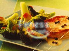 Stejk s korením a brokolicou