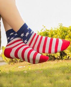 American Flag Socks - Got these!