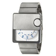 Nixon Mens Stainless Steel Murf Rotolog Watch