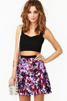 Make the shirt NOT a midriff...bring it down to normal level and I will love this outfit lol