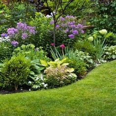 Take time to plan a flower garden this spring for three seasons of blooms and pleasing foliage. Learn more about the basics of starting a flower garden. #FlowerGarden