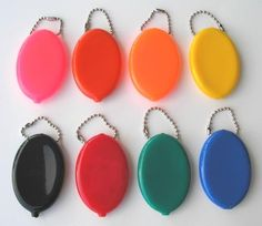 Rubber Squeeze Coin Purses