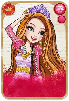 Holly O'Hair™ :: Daughter of Rapunzel, older twin sister of Poppy O'Hair - poem