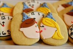 Kiss Me at Midnight Cookies