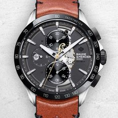 Baume & Mercier  Inspired by a legendary man and brand. The Clifton Club Indian Scout®, Chief® and #BurtMunro @indianmotorcycle timepieces. /bit.ly/indian_c_tw