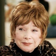 Shirley McLaine- Shirley is one of a kind, awesome actress