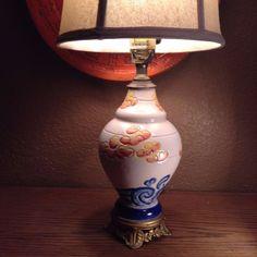 ITALIAN ART DECO MAJOLICA LAMP