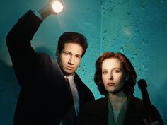 X-Files   Mulder (David Duchovny): Scully, I was like you once - I didn't know who to trust. Then I... I chose another path... another life, another fate, where I found my sister. The end of my world was unrecognisable and upside down. There was one thing that remained the same. You... were my friend, and you told me the truth. Even when the world was falling apart, you were my constant... my touchstone. Scully (Gillian Anderson): And you are mine.