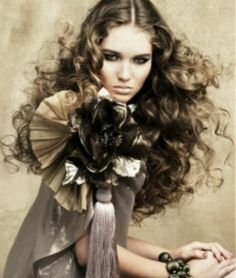 Beyond stunning ash brown hair with blond highlights.  Wow!!