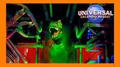 Jurassic Park Ride POV at Universal Studios Orlando (2020) Florida Theme Parks, Orlando Theme Parks, Florida Vacation, Universal Studios Florida, Universal Orlando, Park Hotel, Amazing Adventures, Jurassic Park, Night Life