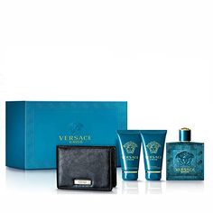 Versace Eros Eau de Toilette Spray Gift Set 4 Count ** Want to know more, click on the image.