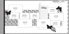Sketch of the Week - Project 12 - Grounding Images - Cord Scrapbook Studio