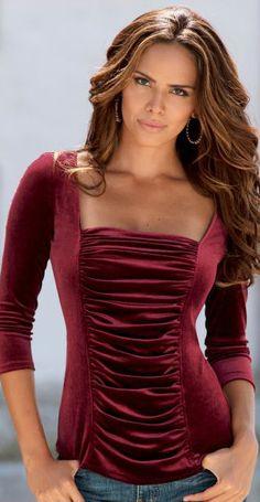 293 mejores imágenes de blusas   Blouses, Fashion clothes y Chic ... 41a5390cf4f0