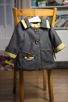 manteau cephee Chut Charlotte, Jupe Short, Polo Ralph Lauren, Blazer, Sewing, Children, Iris, Mens Tops, Jackets