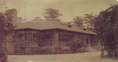 Louis Sullivan, Charnley-Norwood House, Ocean Springs, Mississippi, 1890 period photo