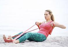 Bliv stærk og tonet med en træningselastik - So Funny Epic Fails Pictures Gym Workout For Beginners, Daily Home Workout, Bikini Fitness, Bikini Workout, Fitness Tips, Fitness Motivation, Health Fitness, Gym Workouts, At Home Workouts