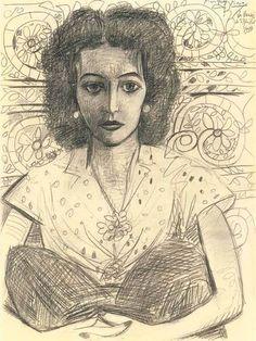 Pablo Picasso – Inès assise