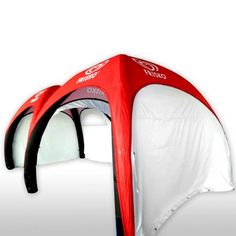 Need an inflatable tent for your next trade show event? Shop for the best custom printed four leg air tent at our store today! Air Tent, Dome Tent, Trade Show, Four Legged, Christian Louboutin, Pumps, Prints, Beer, Design