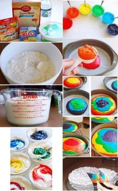 Best cupcakes ideas for teens daughters 55 Ideas Yummy Treats, Delicious Desserts, Sweet Treats, Yummy Food, Do It Yourself Food, Do It Yourself Projects, Creative Cakes, Creative Food, Creative Ideas