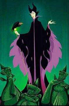 #Maleficent #Flora #Fauna #Merryweather #SleepingBeauty #Disney