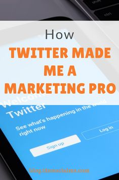Do you believe that Twitter is not that important to marketing? You are right: Twitter may not necessarily be the most important marketing channel. But Twitter has tremendous marketing power. #twitter #twittermarketing #twittertips #twitterstrategy Marketing Case Study, Social Media Marketing Business, Marketing Tactics, Content Marketing Strategy, Marketing Ideas, Twitter For Business, Online Business, Twitter Tips, Twitter Twitter