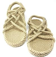 1fb6a6b8a7d9 Handcrafted Rope Shoes for Men   Rope Accessories