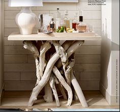$731.00 Roost Driftwood Table Bases
