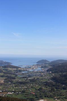 Vista de Viveiro desde Monte Castelo. (Lugo). Galicia. Spain.