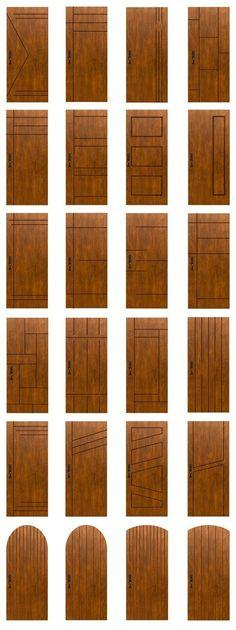 Main door design modern woods Ideas for 2019 Bedroom Door Design, Door Design Interior, Interior Barn Doors, Design Interiors, Bedroom Doors, Modern Interiors, Interior Ideas, Bedroom Furniture, Furniture Design