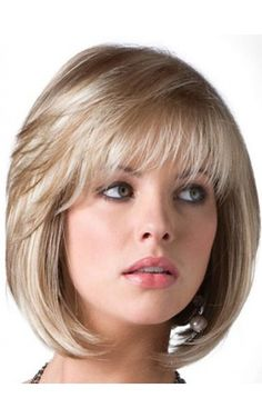 These bob hairstyles for fine hair really are stunning. Hair Styles For Women Over 50, Medium Hair Styles, Curly Hair Styles, Natural Hair Styles, Short Styles, Haircuts With Bangs, Short Bob Hairstyles, Cool Hairstyles, Layered Bob Haircuts