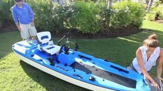 These guys have made fishing more fun than ever. The kayaks feature waterproof storage compartments, fishing rod holders and an on-board digital dashboard telling you your engine RPM, battery level, coolant temperature and a gas gauge. The 7,5 liter fuel tank is enough for two hours at full throttle fun. The jet pump is fitted with an innovative 'weed cutter' device to ensure no vegetation gets curled up around the shafts – so there's no problem with using it in sea-weedy water. The engine…