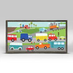 Move Me By Land Canvas Mini