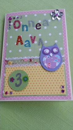 For my neighbour's little girl #Aava 3 years old