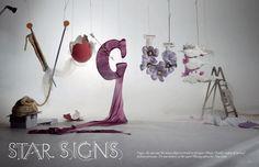 Set designer Shona Heath for Vogue