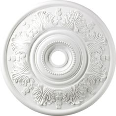 Laureldale Medallion In White. SKU UPC: 748119006420 Material: Polyurethane Foam Type: Indoor Lighting Medallion Collection: Laureldale Finish: White Weight: 3 Height: 2 Width: 30 # of Bulbs: 0 Bulbs Included: 0 UL Approved: Yes Wattage: watts Ceiling Light Covers, Ceiling Light Fixtures, Ceiling Lights, Living Room Lighting, Bedroom Lighting, White Ceiling, Elk Lighting, Ceiling Medallions, Ceiling Decor